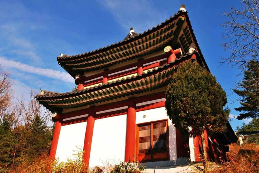 Changdeokgung Palace, Seoul, South Korea.