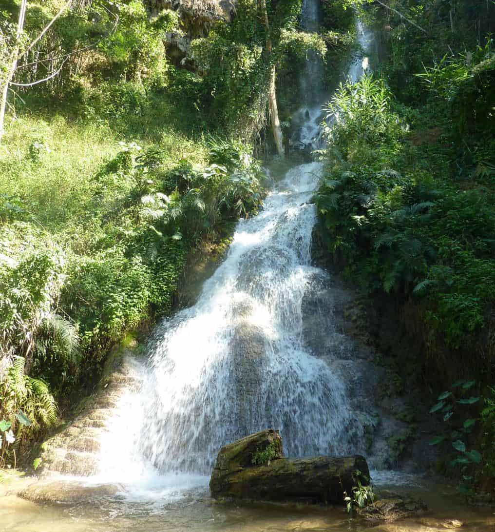 Huai Ton Phueng Waterfall, Thailand.