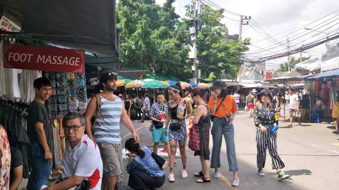 Chatuchak Market, Bangkok.