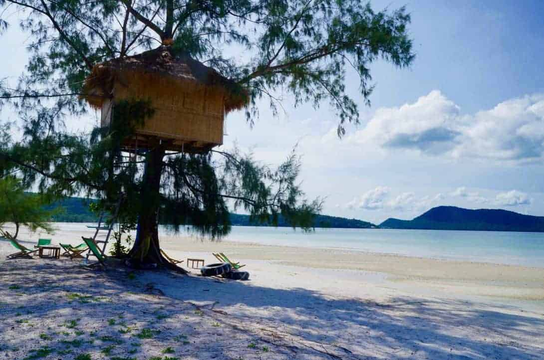 Koh Rong Sanloem Beach Tree House