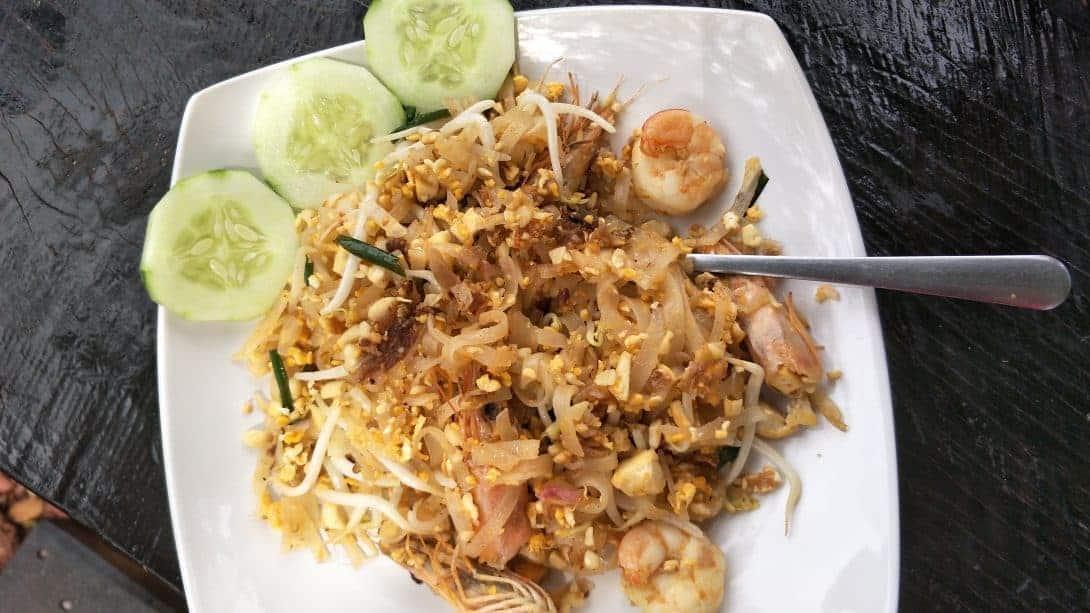 Pad Thai, Thailand's Most famous dish.