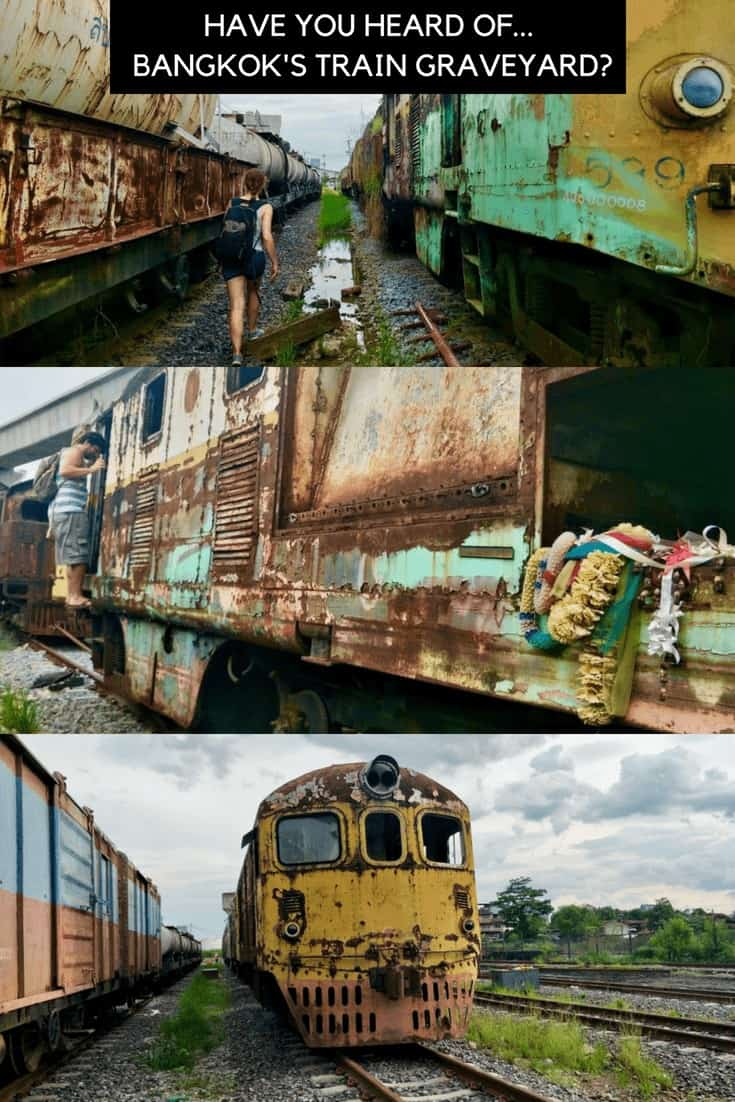 Have you heard of Bangkok's Train Graveyard?