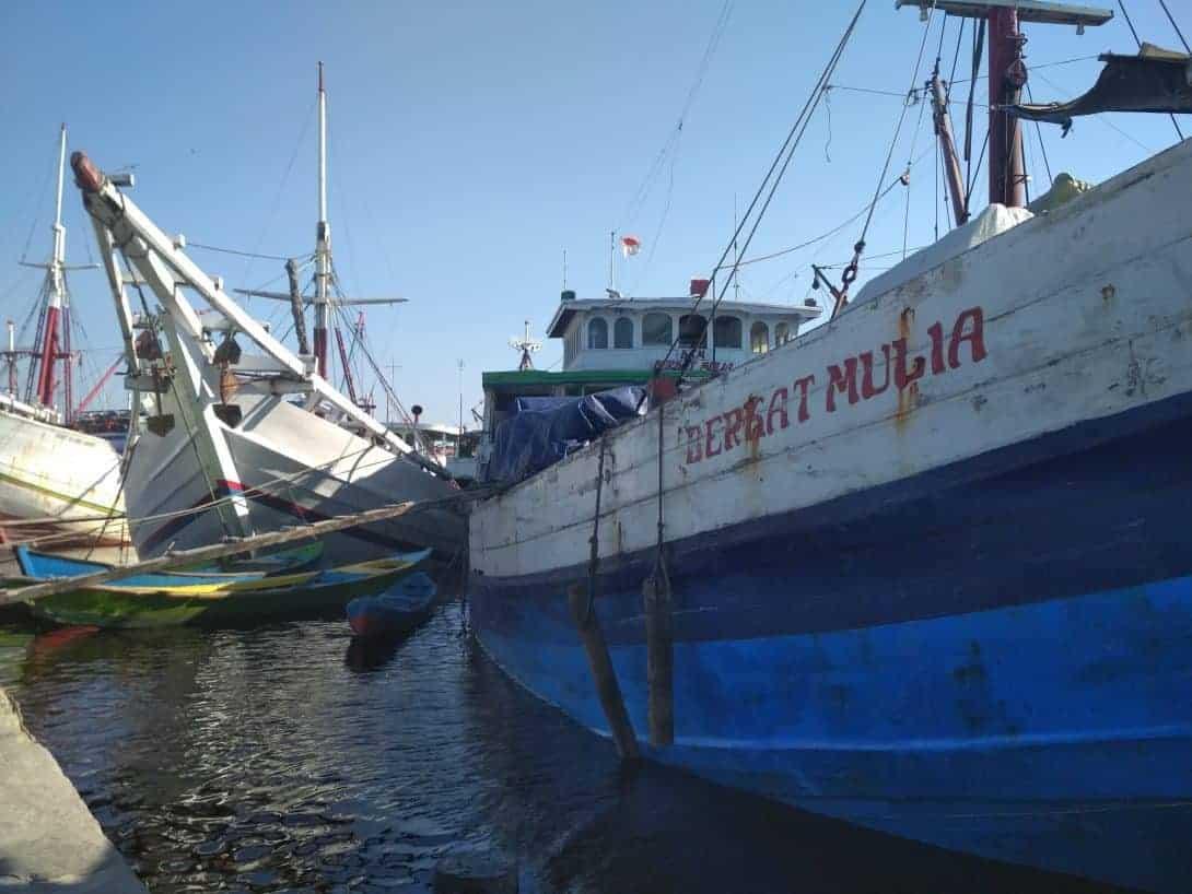 Old Boats at Sunda Kelapa Harbour, Jakarta