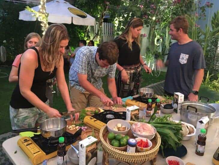 Lullaby Hostel - cooking class