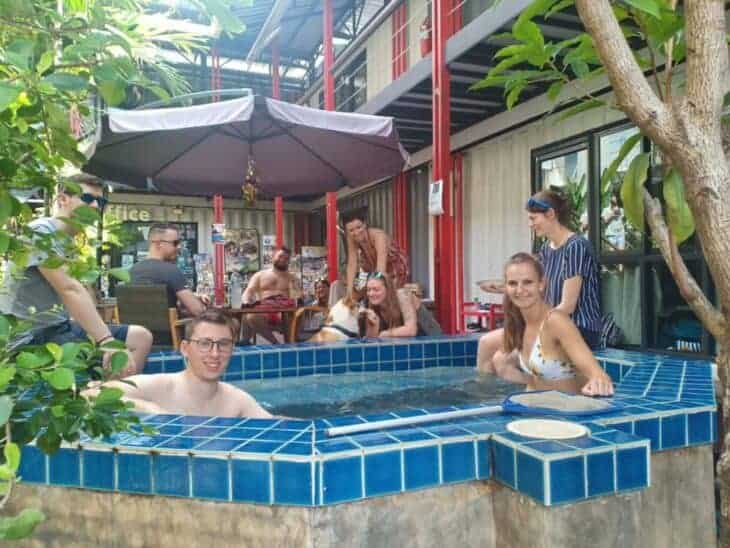 Backpackers at @Box Hostel