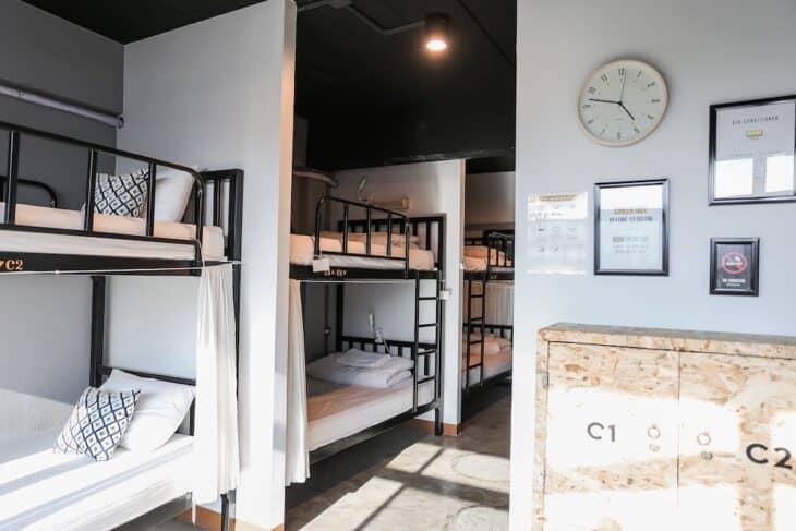 Jeune Hostel - dorm room
