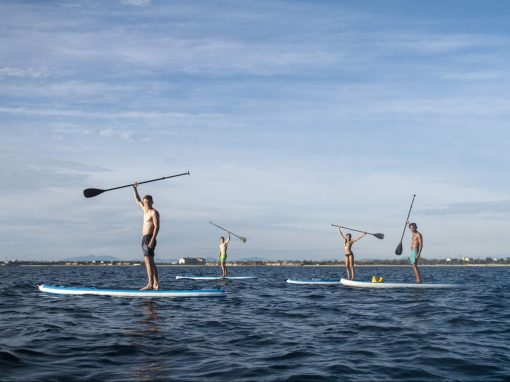 Stand Up Paddle Boarding in Hoi An, Vietnam