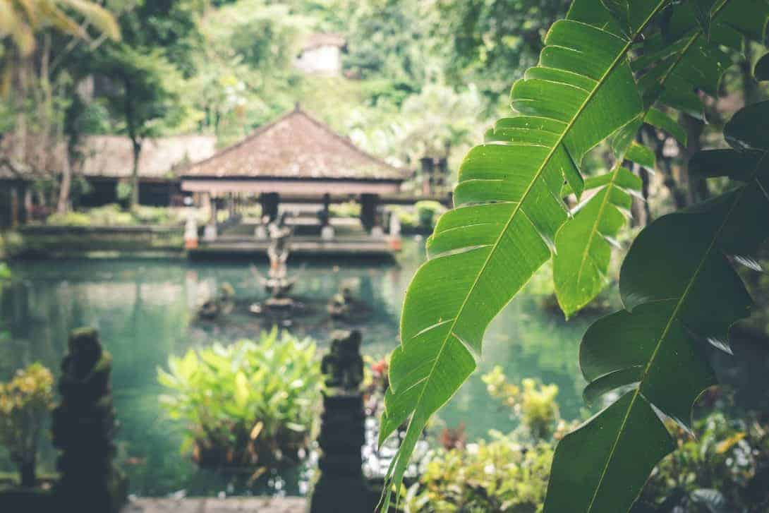 Beautiful Bali scene
