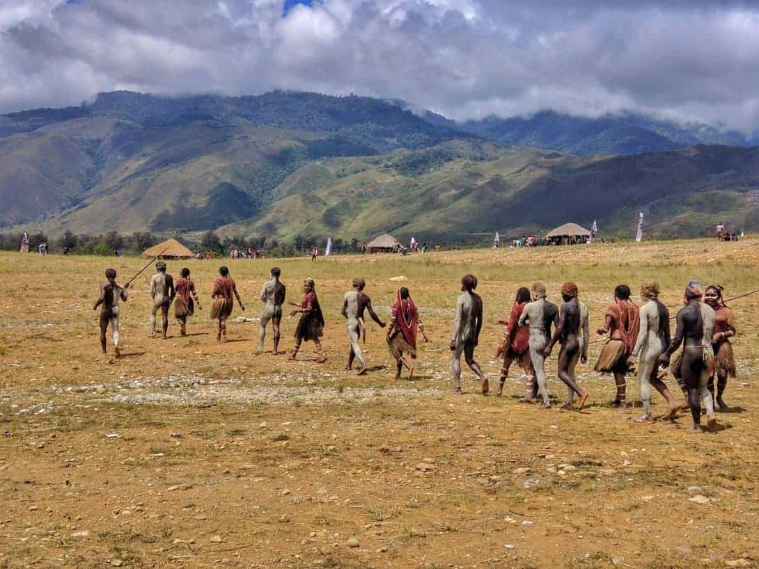 The Baliem Valley Festival, Papua.