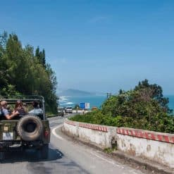 Cruising on the Hai Van Pass Jeep Tour