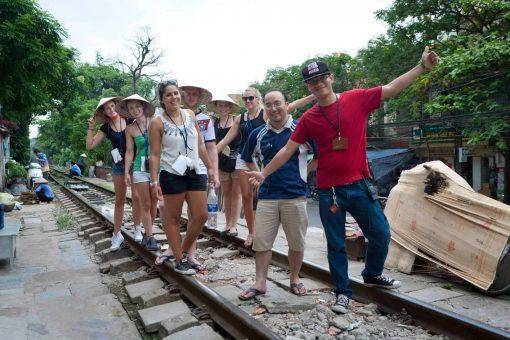 Hanoi Walkie Talking Tour group