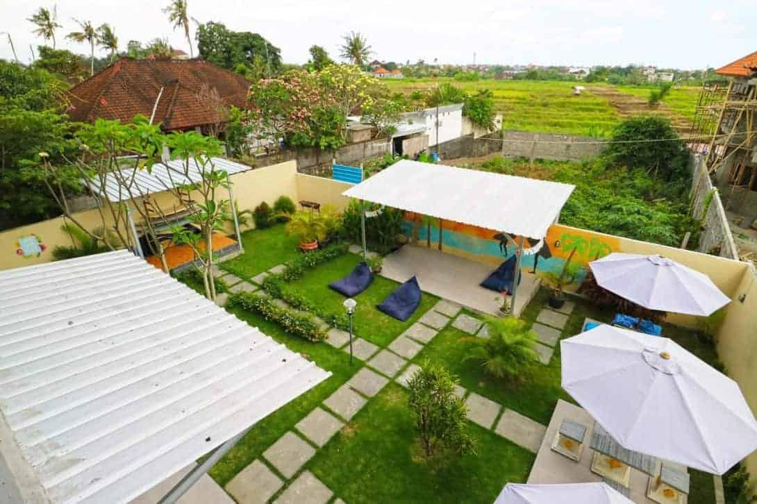 In Calm Hostel, Canggu, Bali
