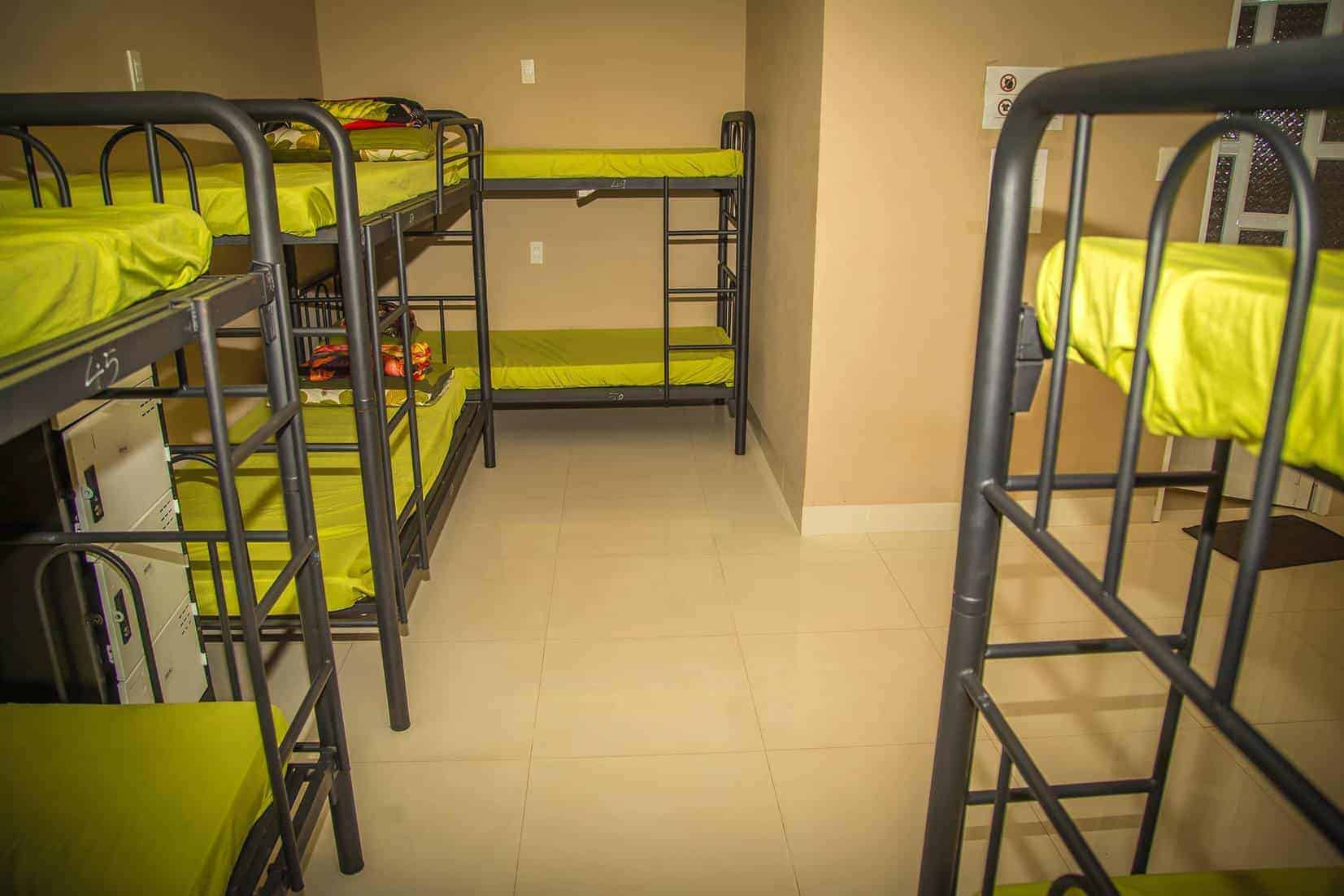 Clean and budget-friendly dorm beds at Mau Ne Hills
