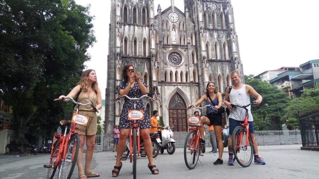 real hanoi bicycle tour 2