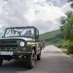 The Hai Van Pass Jeep Tour.