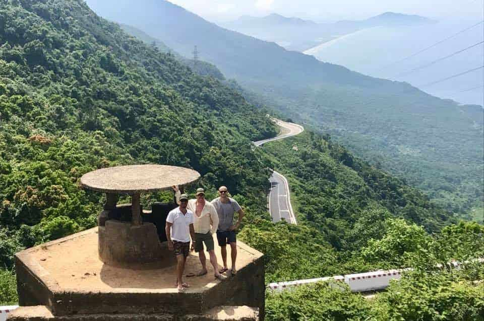 Views on the Hai Van Pass Jeep Tour