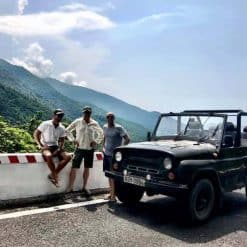 the Hai Van Pass Jeep Tour