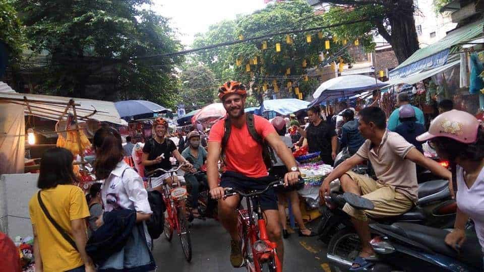real hanoi bicycle tour 10