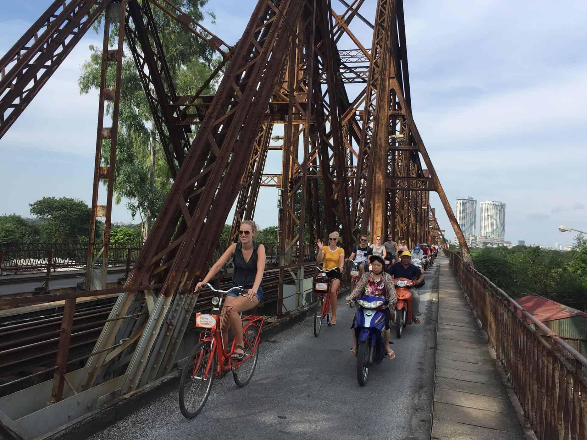 real hanoi bicycle tour 6