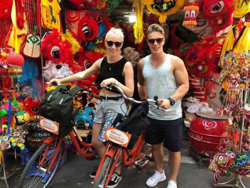 real hanoi bicycle tour 9