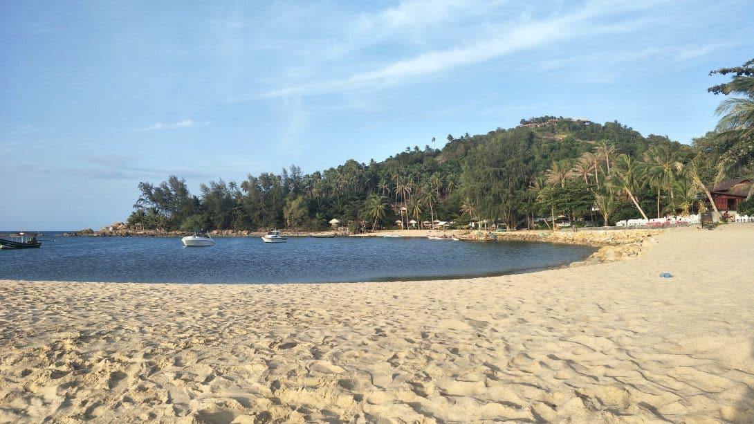 Beautiful Mae Haad Beach, North Koh Phangan