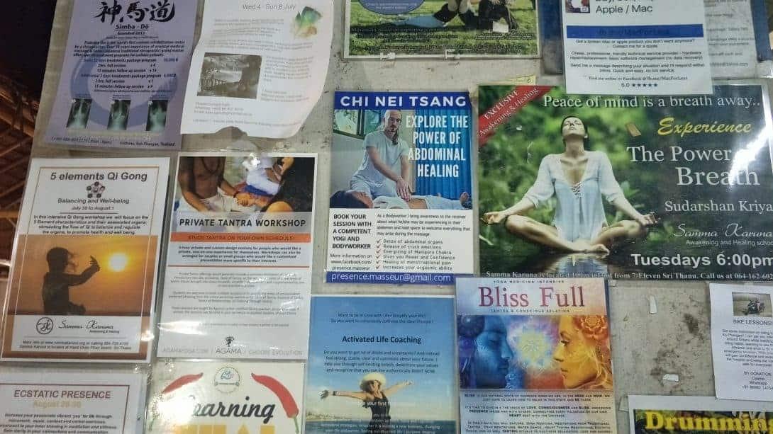 Healing Workshops Koh Phangan