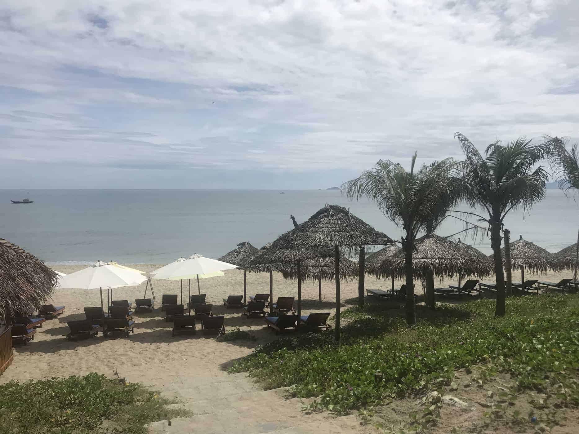 The View From Kahunas Beach Bar. Hoi An, Vietnam.