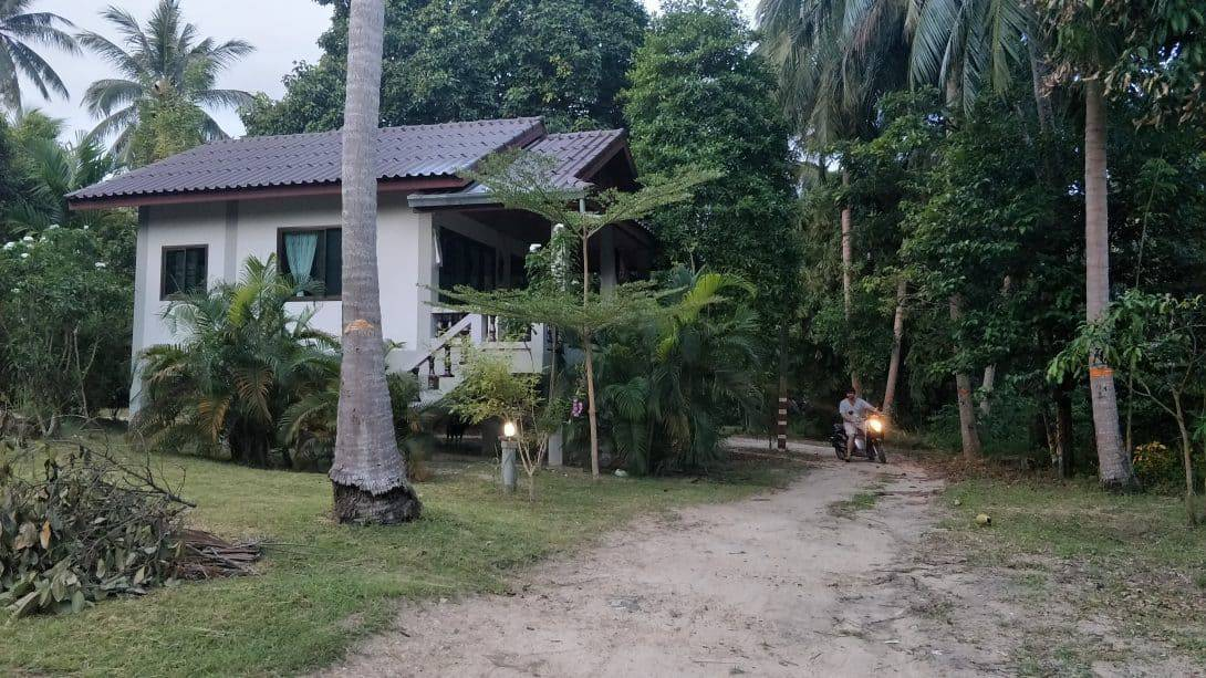 Our house in Koh Phangan, Thailand