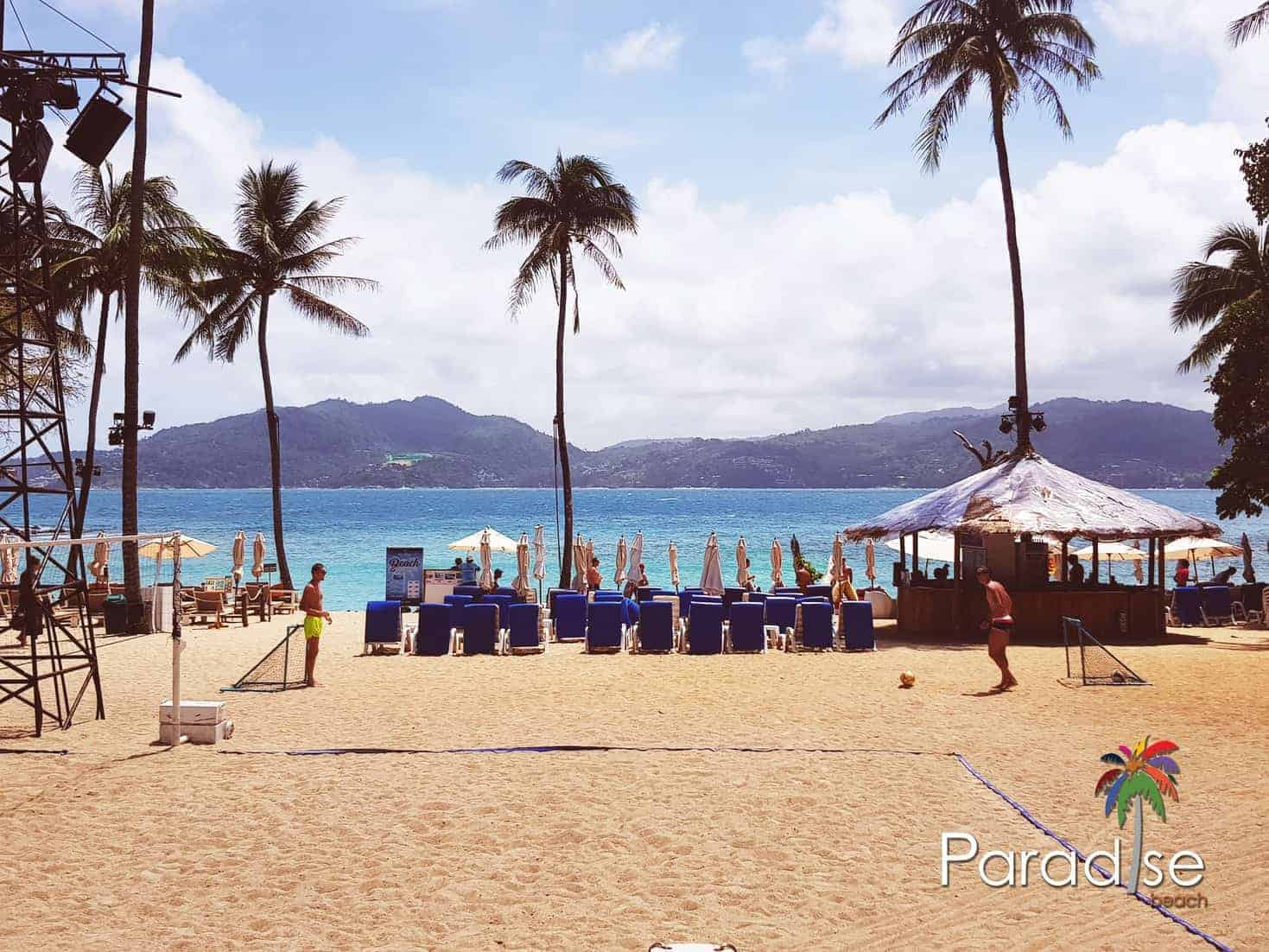 Sun, sea and sand - you can savor them all at Paradise Beach, Phuket, Thailand.