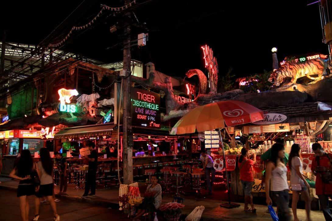 Nightlife in Patong, Phuket