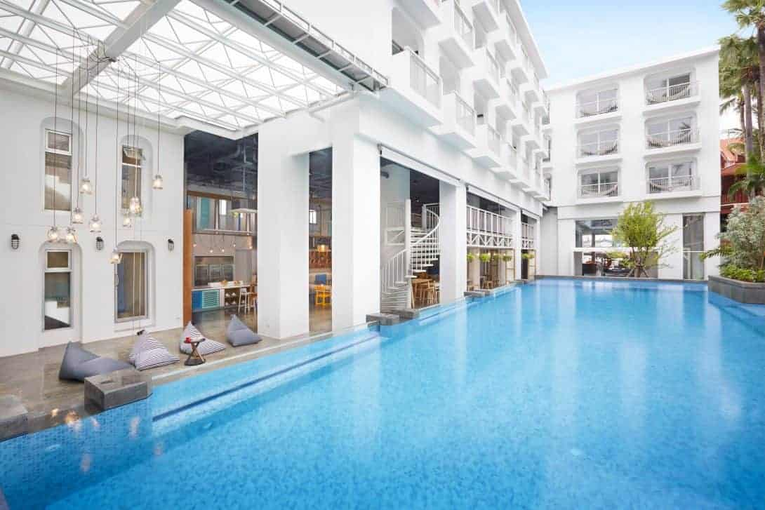Swimming Pool at Lubd Hostel Patong Phuket