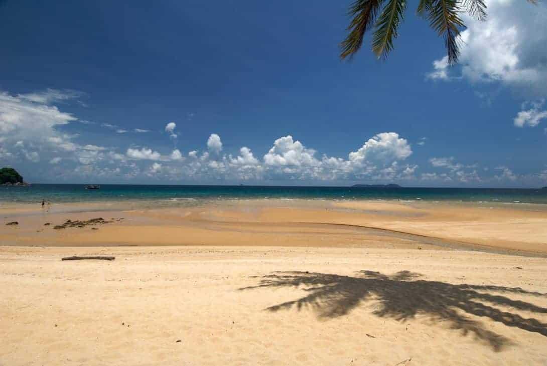Clean beaches of Tioman Island, Malaysia