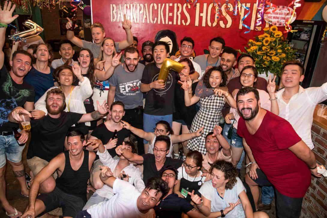 Vietnam Backpackers Hostels - Downtown.