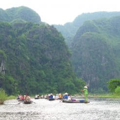 Boat Trip on Tam Coc