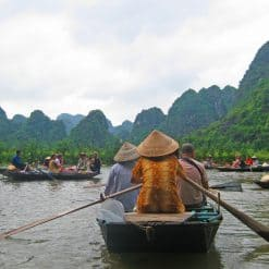 Boating in Tam Coc