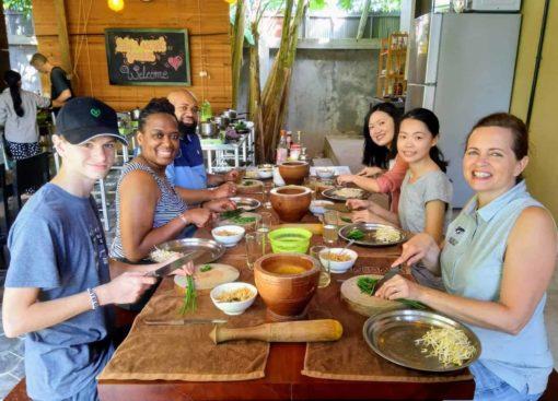 Cooking class Lily's Secret Garden Siem Reap Cambodia