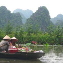 Limestone karsts of Tam Coc, Ninh Binh
