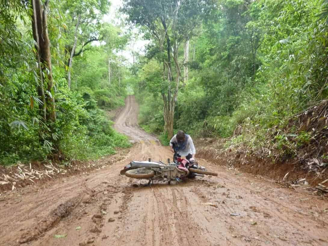 Road from Chiang Dao to Pai via Wiang Haeng