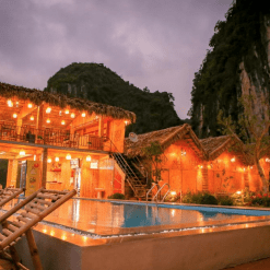 Tam Coc Wonderland Bungalows - Overnight trip to Ninh Binh.