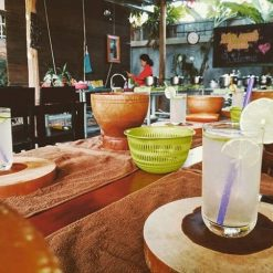 The kitchen at Lily's Secret Garden Siem Reap Cambodia