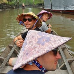 A boat trip on the Mekong Delta.