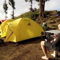 Camping Mount Rinjani Lombok Indonesia
