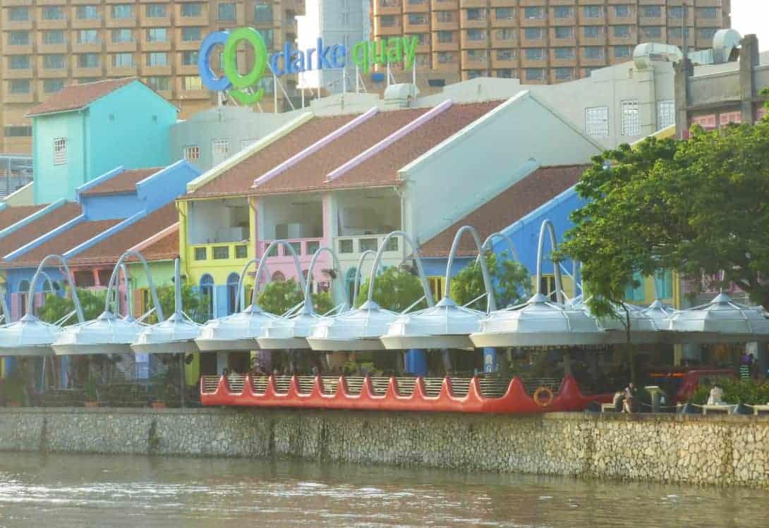 Clarke Quay, SIngapore.