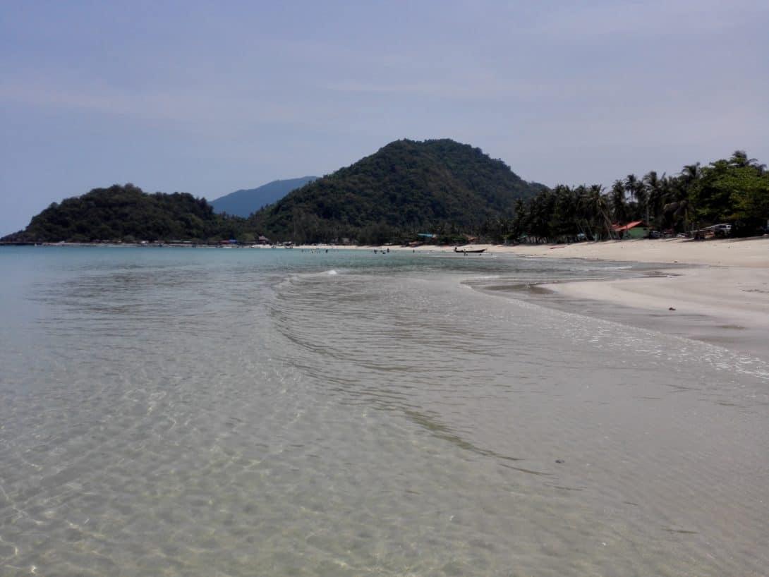 Faeng Phao Beach, Khanom, Thailand.
