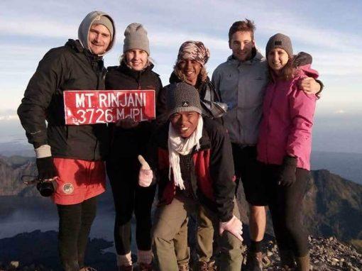 The Summit Mt. Rinjani Lombok Indonesia