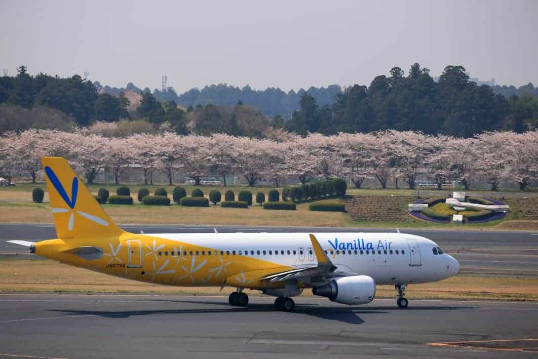 Vanilla Air are the biggest budget airline in Japan.