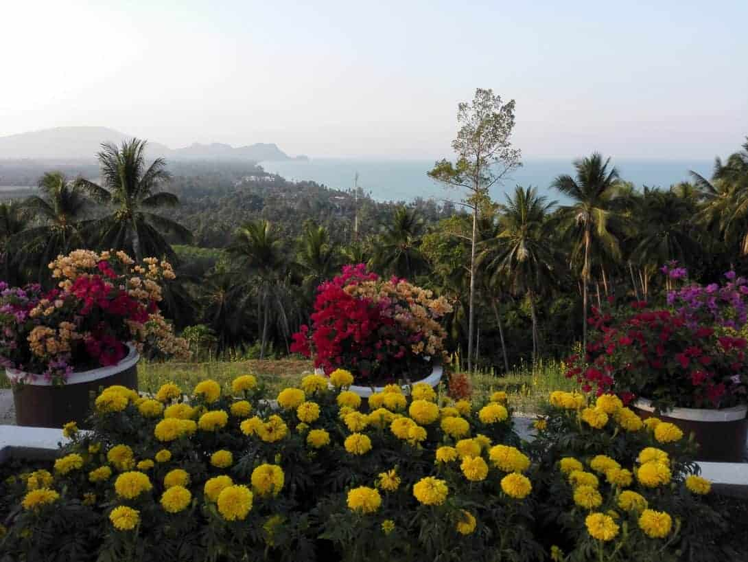 Viewpoint in Khanom, Thailand.