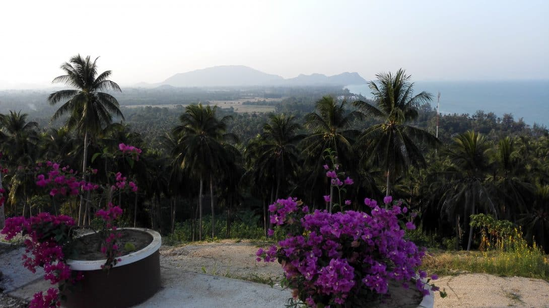 Viewpoint in Khanom, Thailand