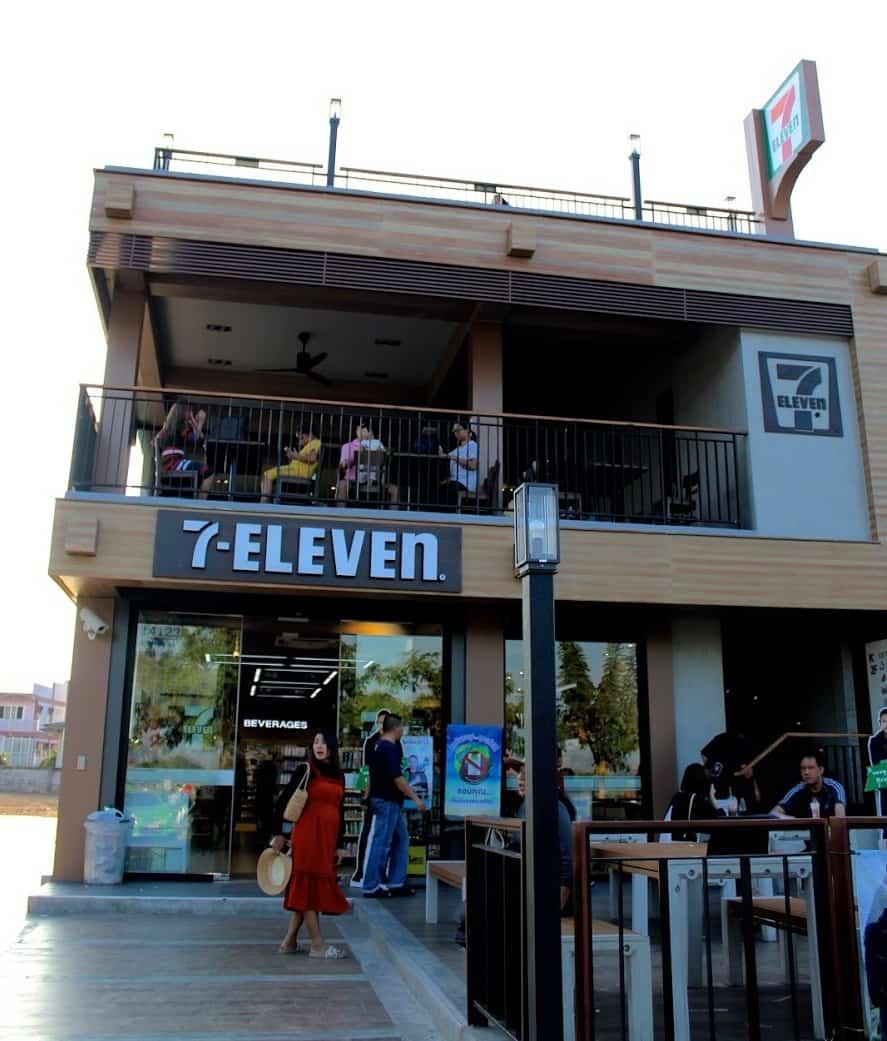 The Three-Storey 7-11 in Nakhon Phanom
