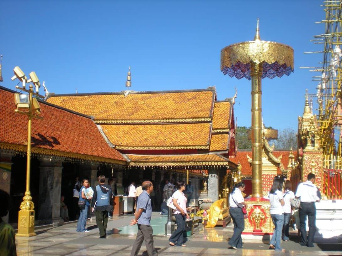 Wat Doi Suthep, Thailand.